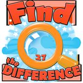 Find The Difference 27 biểu tượng