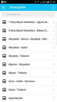TrabzonBelediye OtobüsSaatleri poster