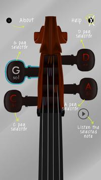 Cello Tune Info Free screenshot 2