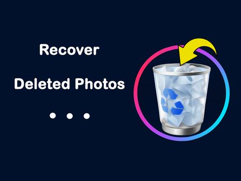 Recover deleted photos screenshot 1