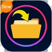Restore all deleted files icon