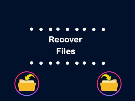 Restore all deleted files poster