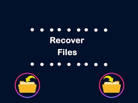 Restore all deleted files screenshot 1