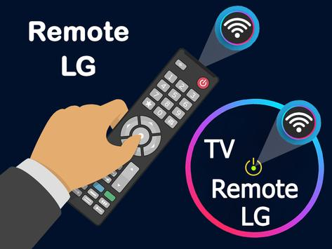 Remote control for lg tv poster