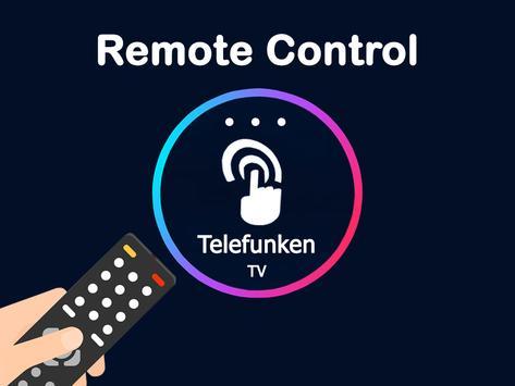 Remote control for telefunken tv poster