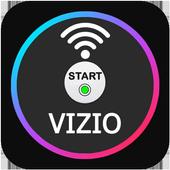 universal remote control for vizi tv icon