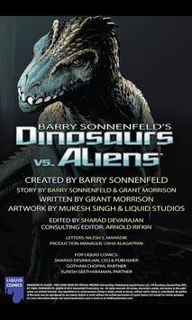 Dinosaurs vs Aliens FCBD apk screenshot