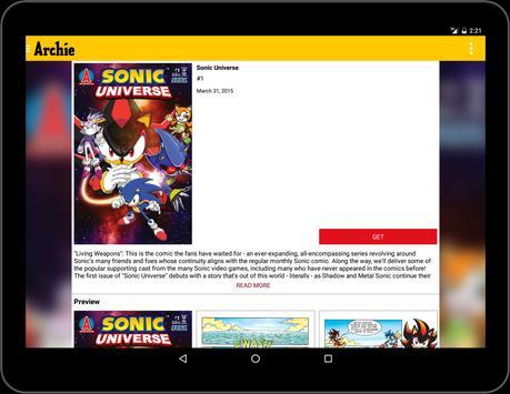 Archie Comics apk screenshot