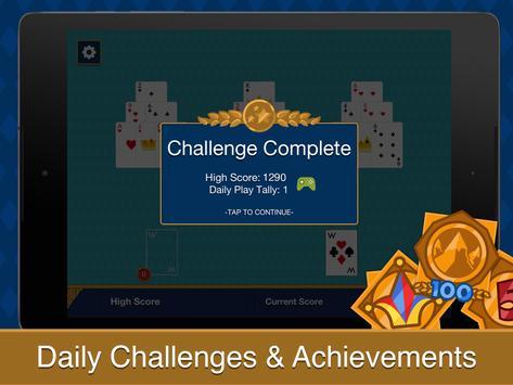 Tri Peaks Solitaire screenshot 7