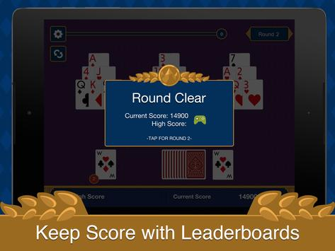 Tri Peaks Solitaire screenshot 14