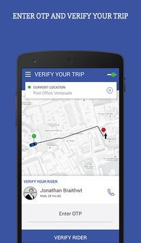 URB-RIDE Driver screenshot 1
