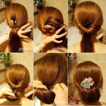 DIY Hair Style Tutorial Ideas screenshot 3