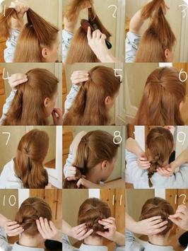 DIY Hair Style Tutorial Ideas screenshot 10