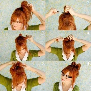 DIY Hair Style Tutorial Ideas screenshot 2