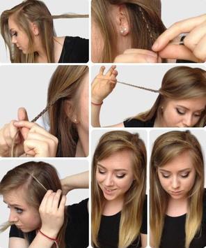 DIY Hair Style Tutorial Ideas screenshot 9