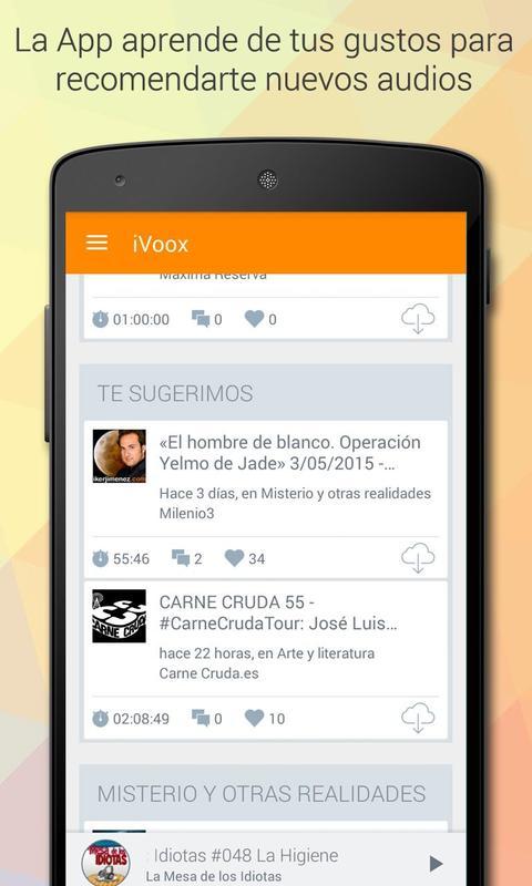 iVoox Podcast (Android 2.3) für Android - APK herunterladen