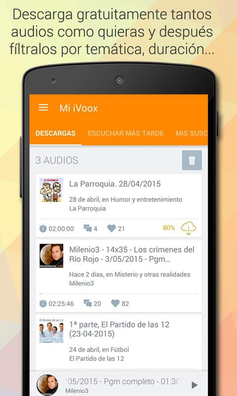 iVoox Podcast (Android 2.3) for Android - APK Download