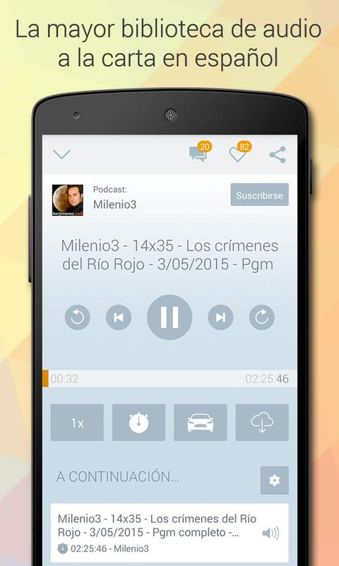 iVoox Podcast (Android 2.3) APK-Download - Kostenlos Musik & Audio ...