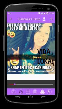 ❤Editor de Foto Grid e Emojis❤ apk screenshot
