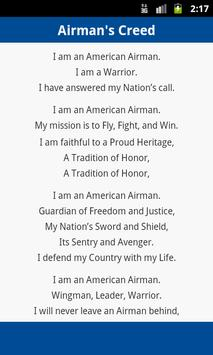 Airmans creed apk download free books reference app for android airmans creed poster altavistaventures Images
