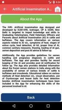 IVRI-Artificial Insemination App(कृत्रिम गर्भाधान) screenshot 3