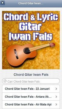 Chord dan Lirik Iwan Fals apk screenshot