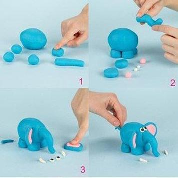 clay art ideas step by step poster