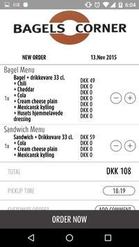Bagels Corner Valby apk screenshot