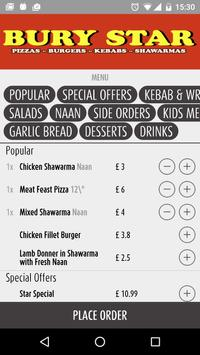 Bury Star Takeaway screenshot 1