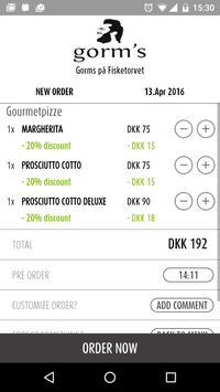 Gorm's Pizza apk screenshot