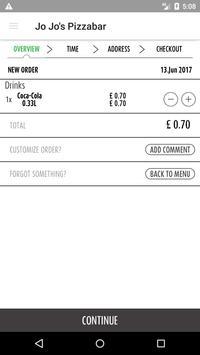Jo Jo's Pizza Bar screenshot 1