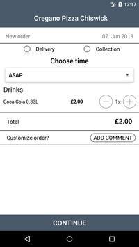Oregano Pizza Chiswick screenshot 1