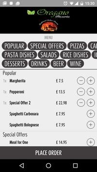 Oregano Pizza Chiswick apk screenshot