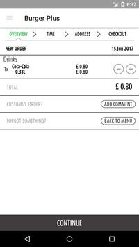 Pizza & Burger Plus screenshot 1