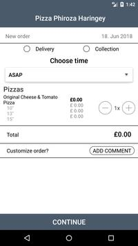 Pizza Phiroza Haringey screenshot 1