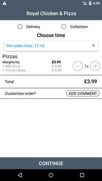 Royal Chicken & Pizza screenshot 2