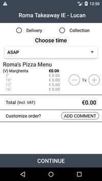 Roma Take Away IE screenshot 2