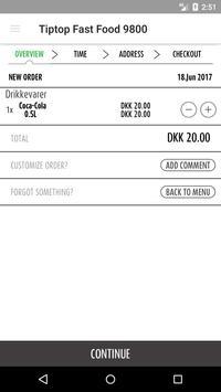 Tiptop Fast Food 9800 apk screenshot