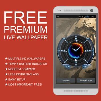 Dragon Premium Live Wallpaper poster