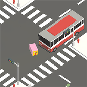 Sheep of intersection icon