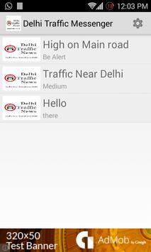Delhi Traffic Messenger 2.0 apk screenshot