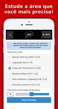 Simulado CNH/Detran screenshot 3