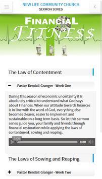 New Life Community Church apk screenshot