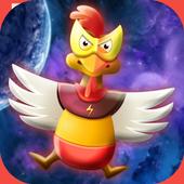 Chicken Shot - Space Warrior icon