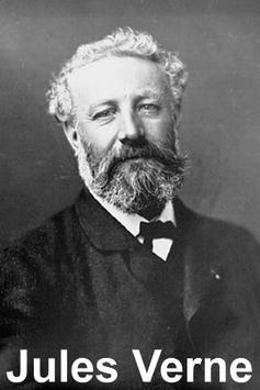 Reise um den Mond, Jules Verne poster