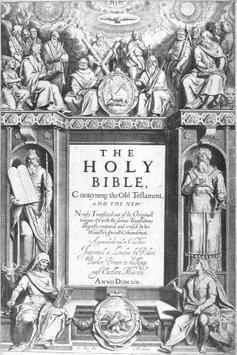 King James Bible ● FREE poster