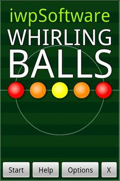 Whirling Balls FREE poster