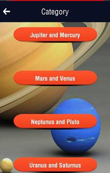 Planets and Spaces Trivia Quiz screenshot 2