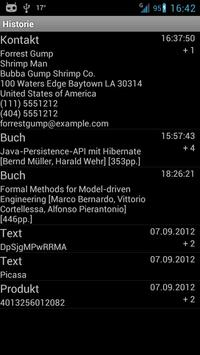 ixMAT Barcode Scanner apk screenshot