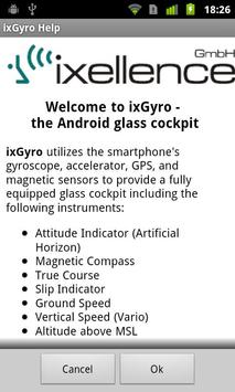 ixGyro Glass Cockpit Demo apk screenshot